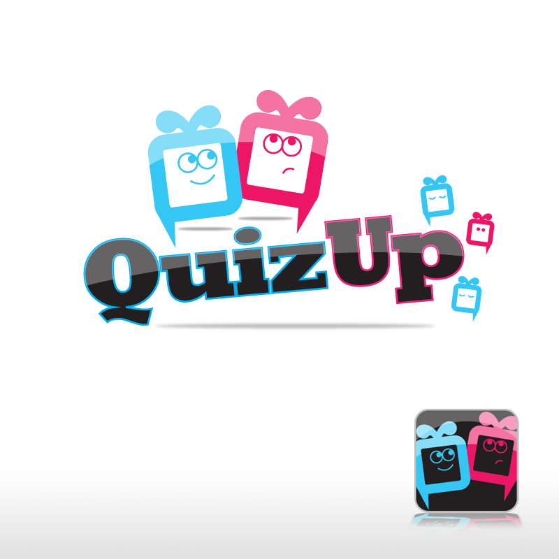 Logo Design by storm - Entry No. 19 in the Logo Design Contest Logo Design for QuizUp app.
