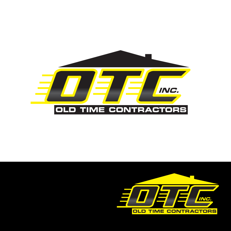 Logo Design by storm - Entry No. 61 in the Logo Design Contest Old Time Contractors, Inc. (new brand:  OTC, Inc.) Logo Design.