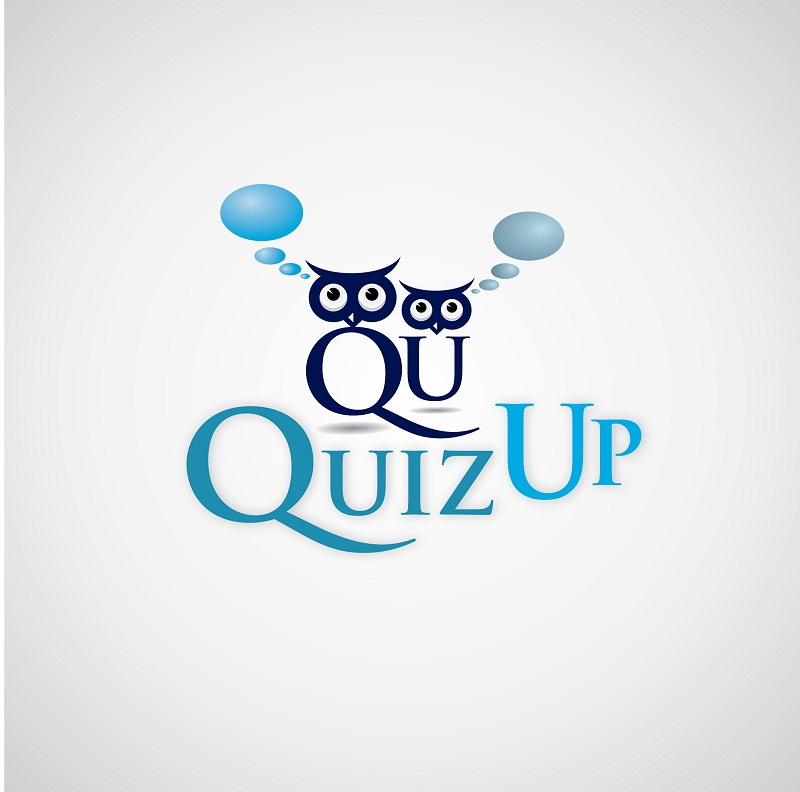 Logo Design by kowreck - Entry No. 22 in the Logo Design Contest Logo Design for QuizUp app.