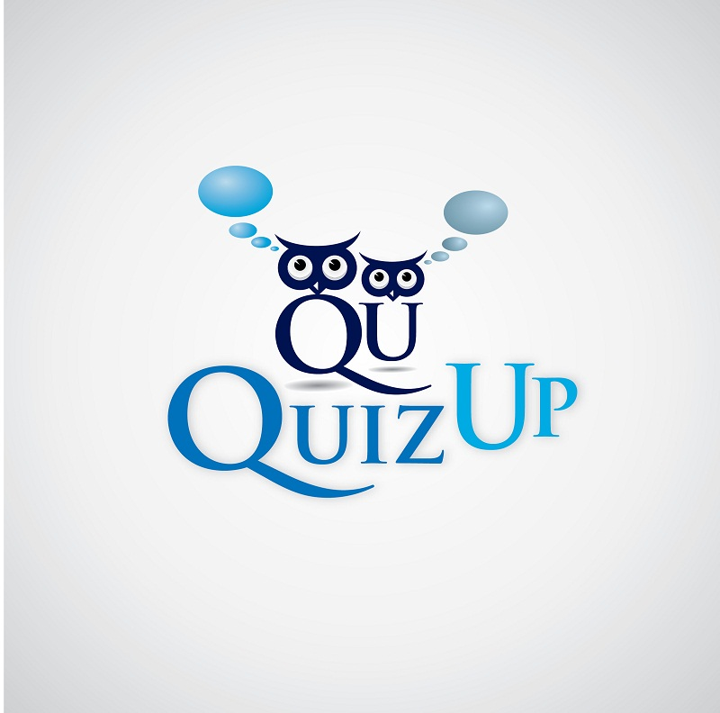 Logo Design by kowreck - Entry No. 23 in the Logo Design Contest Logo Design for QuizUp app.
