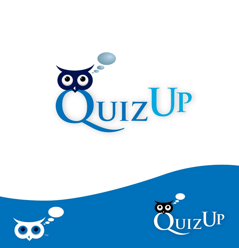 Logo Design by kowreck - Entry No. 24 in the Logo Design Contest Logo Design for QuizUp app.