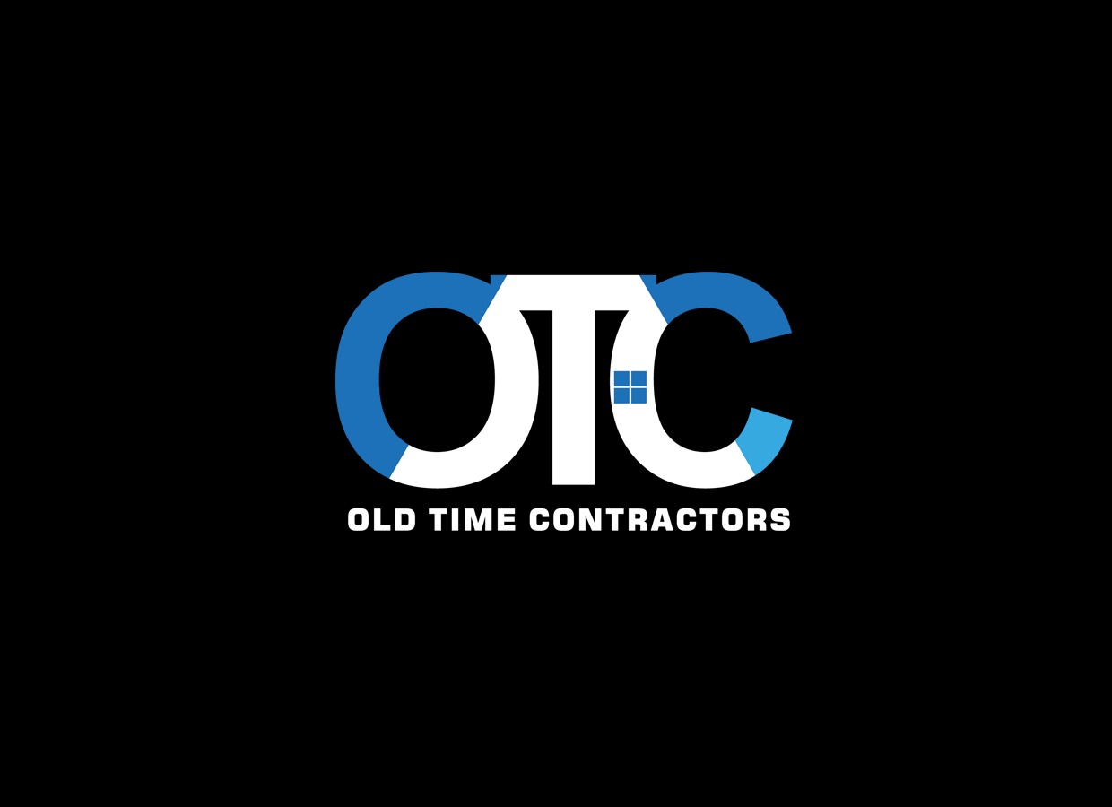 Logo Design by pixdesign - Entry No. 62 in the Logo Design Contest Old Time Contractors, Inc. (new brand:  OTC, Inc.) Logo Design.
