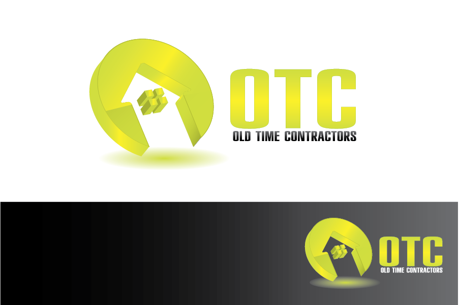 Logo Design by Moin Javed - Entry No. 65 in the Logo Design Contest Old Time Contractors, Inc. (new brand:  OTC, Inc.) Logo Design.