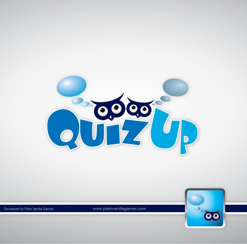 Logo Design by kowreck - Entry No. 29 in the Logo Design Contest Logo Design for QuizUp app.