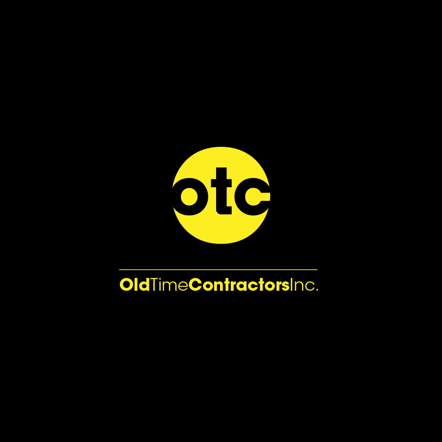 Logo Design by zesthar - Entry No. 68 in the Logo Design Contest Old Time Contractors, Inc. (new brand:  OTC, Inc.) Logo Design.