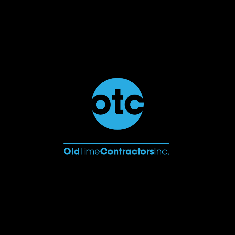 Logo Design by zesthar - Entry No. 70 in the Logo Design Contest Old Time Contractors, Inc. (new brand:  OTC, Inc.) Logo Design.