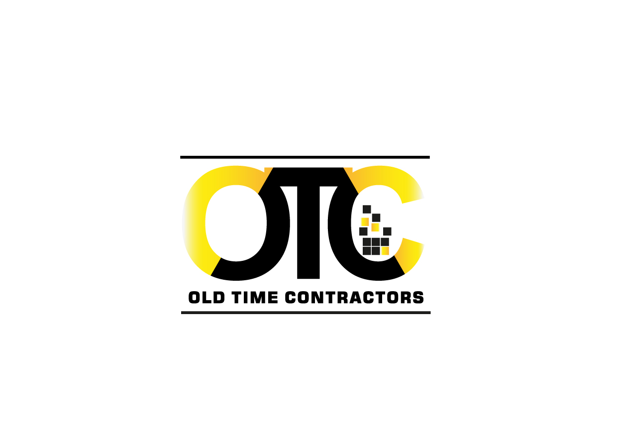 Logo Design by pixdesign - Entry No. 71 in the Logo Design Contest Old Time Contractors, Inc. (new brand:  OTC, Inc.) Logo Design.