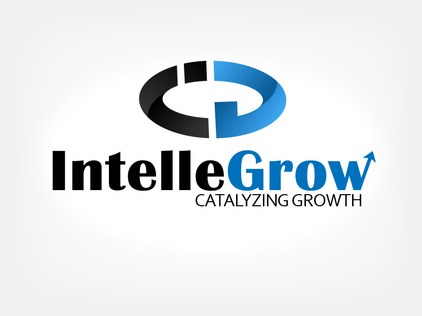 Logo Design by Private User - Entry No. 179 in the Logo Design Contest Logo Design Needed for Exciting New Company IntelleGrow Finance Pvt. Ltd..