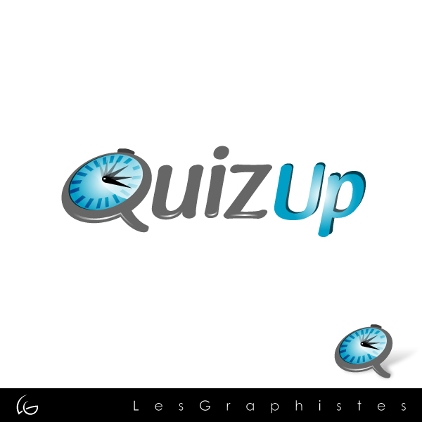 Logo Design by Les-Graphistes - Entry No. 33 in the Logo Design Contest Logo Design for QuizUp app.