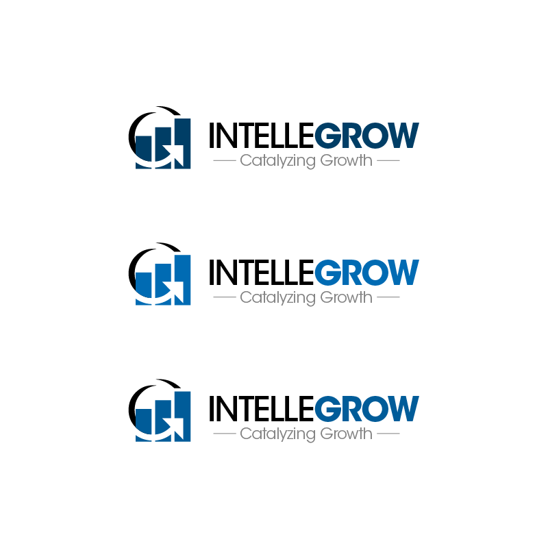 Logo Design by zesthar - Entry No. 182 in the Logo Design Contest Logo Design Needed for Exciting New Company IntelleGrow Finance Pvt. Ltd..