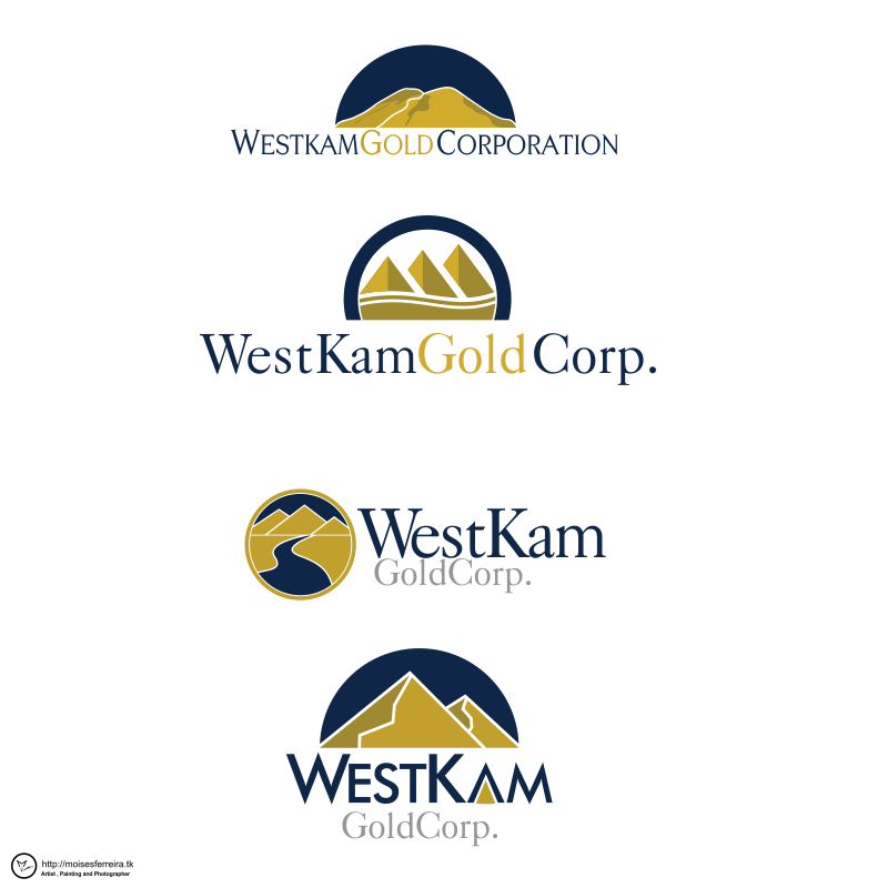 Logo Design by moisesf - Entry No. 109 in the Logo Design Contest New Logo Design for WestKam Gold Corp..