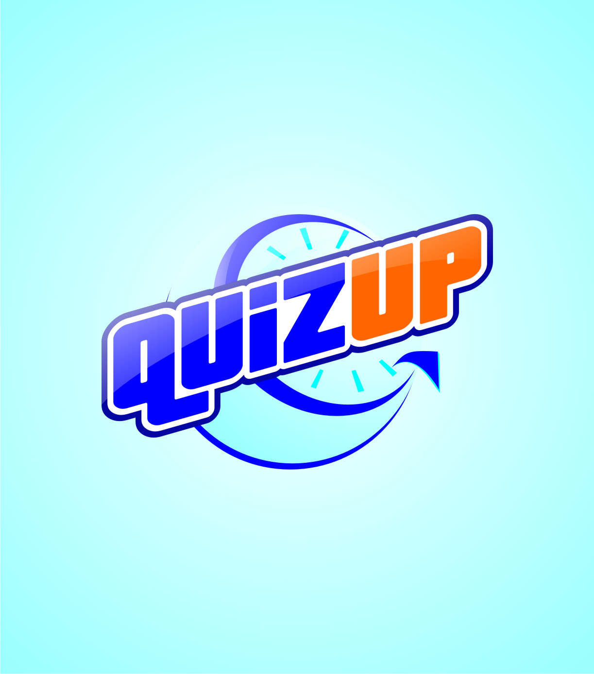 Logo Design by Private User - Entry No. 42 in the Logo Design Contest Logo Design for QuizUp app.