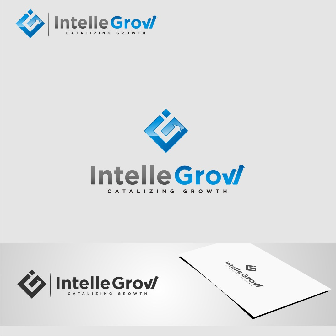 Logo Design by graphicleaf - Entry No. 196 in the Logo Design Contest Logo Design Needed for Exciting New Company IntelleGrow Finance Pvt. Ltd..