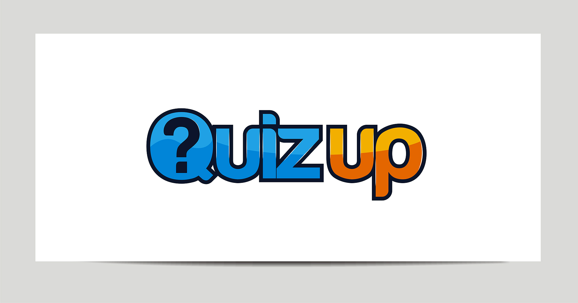 Logo Design by Julius Niro - Entry No. 43 in the Logo Design Contest Logo Design for QuizUp app.