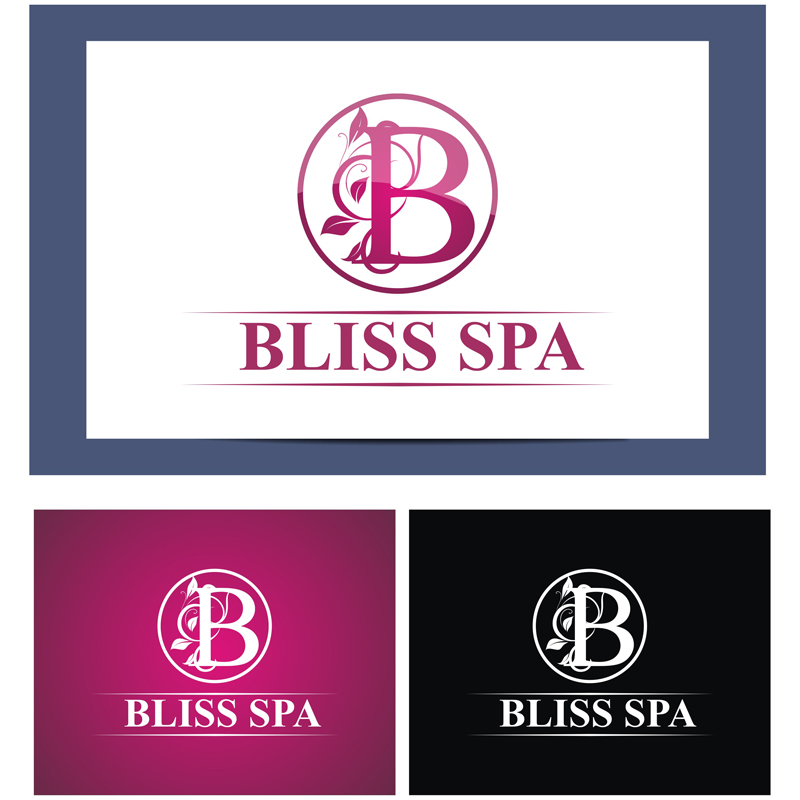 Logo Design by Julius Niro - Entry No. 3 in the Logo Design Contest New Logo Design for Bliss Spa Mobile.