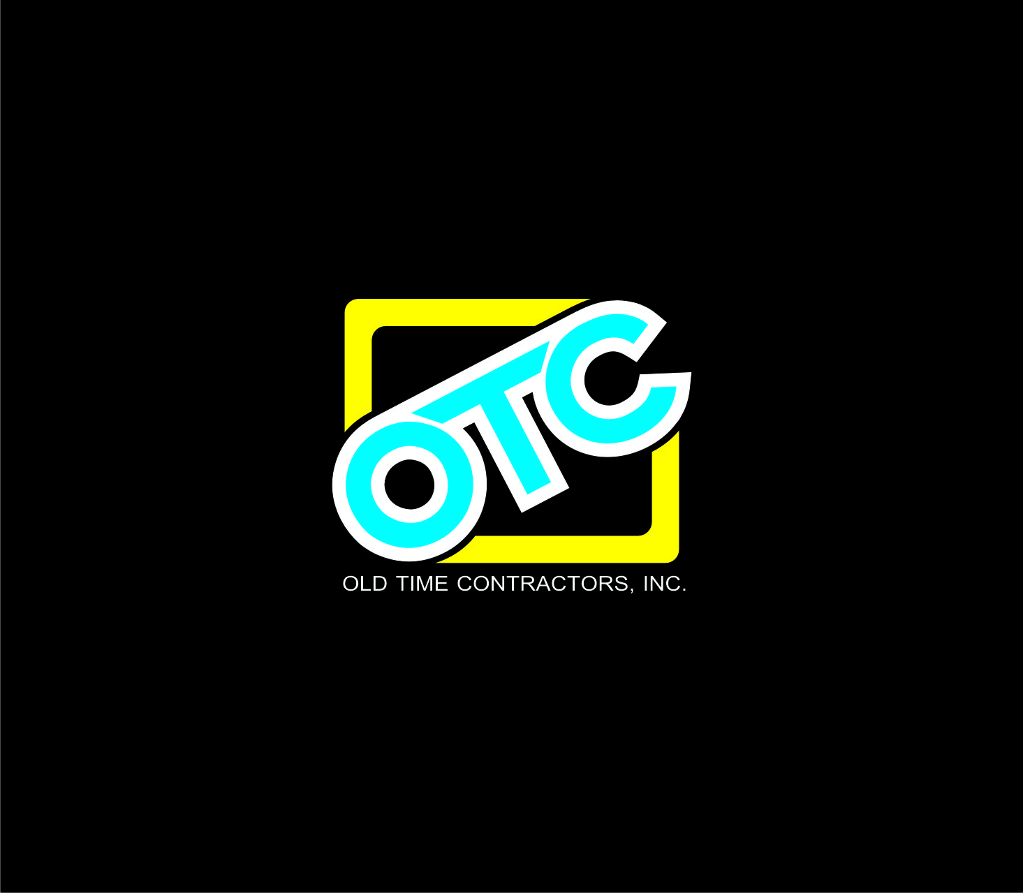 Logo Design by Private User - Entry No. 77 in the Logo Design Contest Old Time Contractors, Inc. (new brand:  OTC, Inc.) Logo Design.