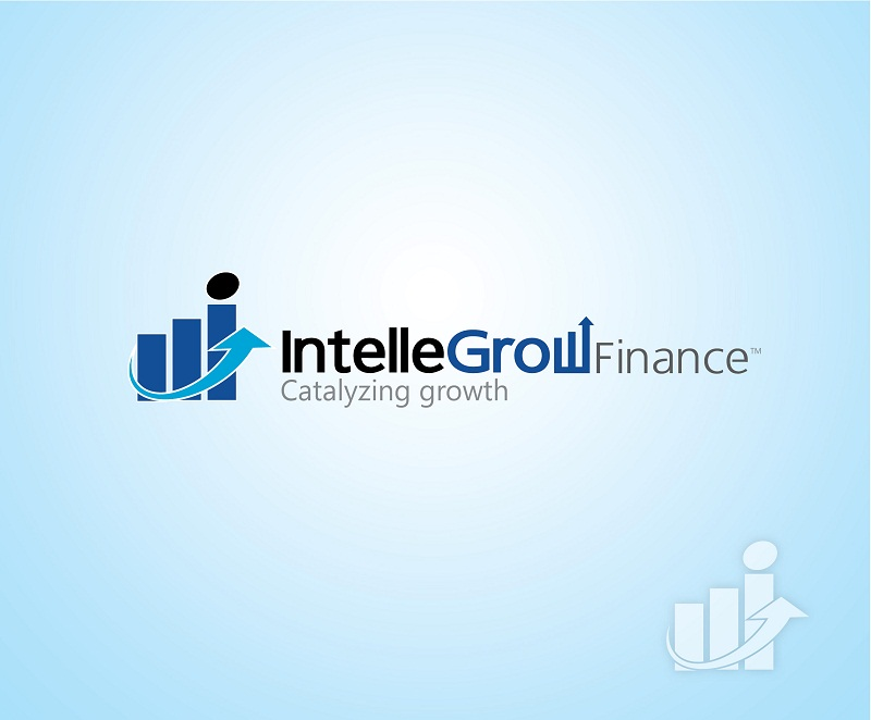 Logo Design by kowreck - Entry No. 198 in the Logo Design Contest Logo Design Needed for Exciting New Company IntelleGrow Finance Pvt. Ltd..