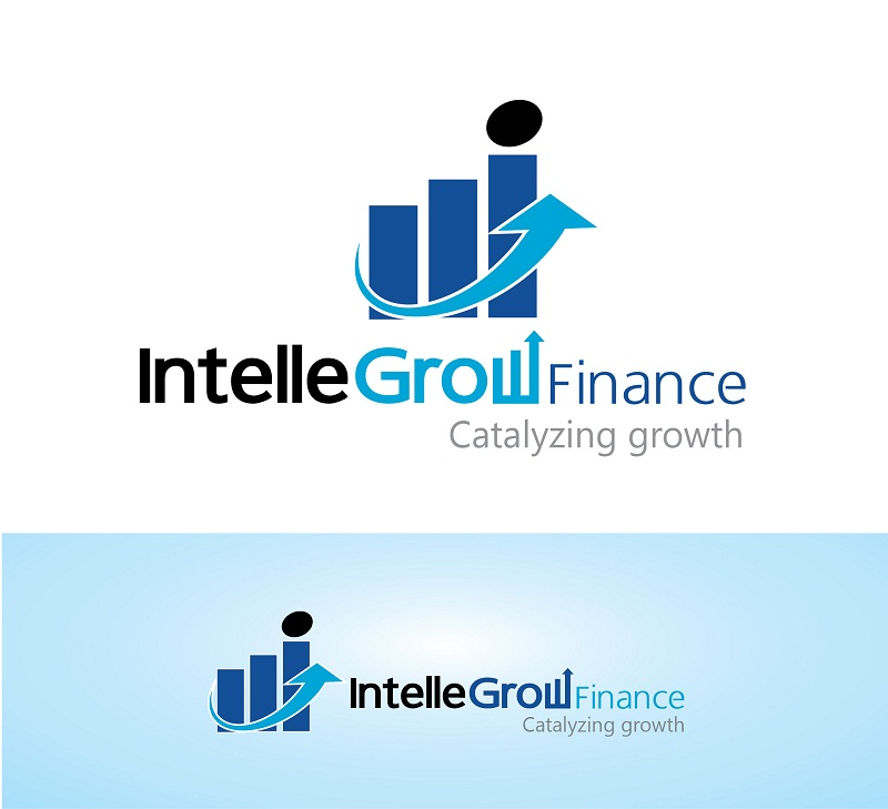 Logo Design by kowreck - Entry No. 199 in the Logo Design Contest Logo Design Needed for Exciting New Company IntelleGrow Finance Pvt. Ltd..