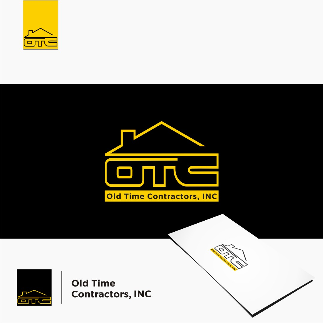 Logo Design by graphicleaf - Entry No. 79 in the Logo Design Contest Old Time Contractors, Inc. (new brand:  OTC, Inc.) Logo Design.