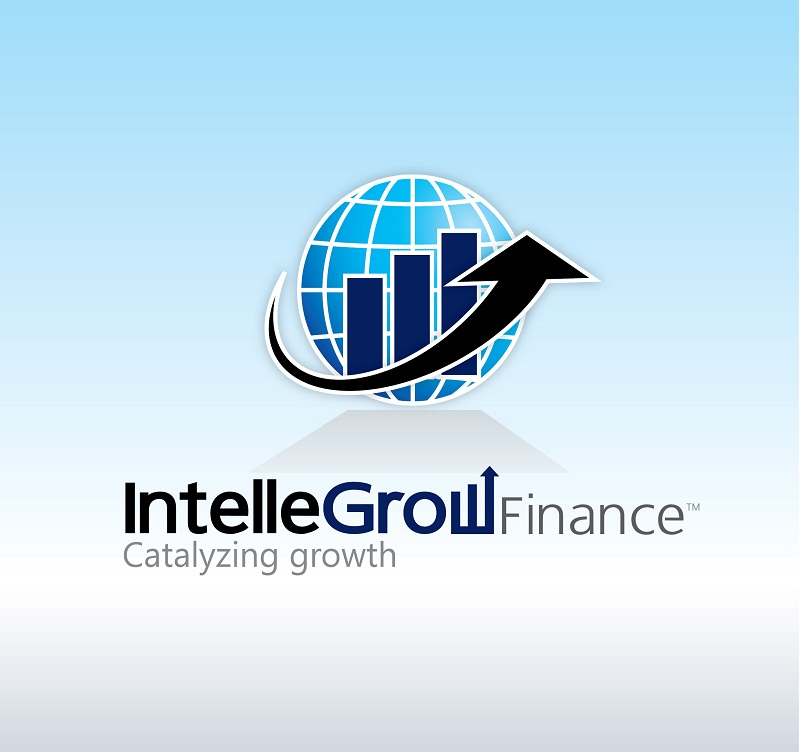 Logo Design by kowreck - Entry No. 201 in the Logo Design Contest Logo Design Needed for Exciting New Company IntelleGrow Finance Pvt. Ltd..