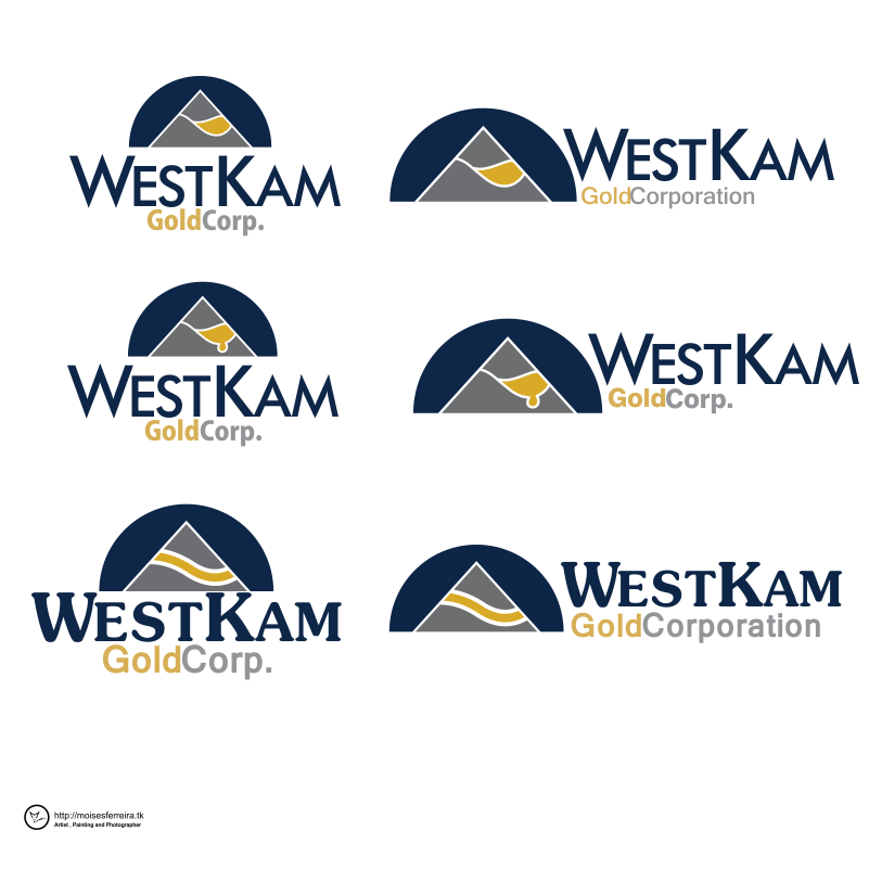 Logo Design by moisesf - Entry No. 115 in the Logo Design Contest New Logo Design for WestKam Gold Corp..