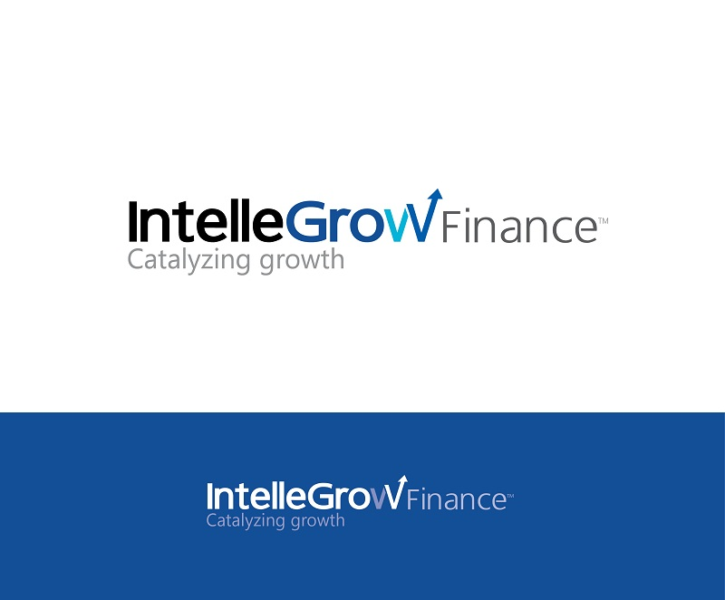 Logo Design by kowreck - Entry No. 205 in the Logo Design Contest Logo Design Needed for Exciting New Company IntelleGrow Finance Pvt. Ltd..