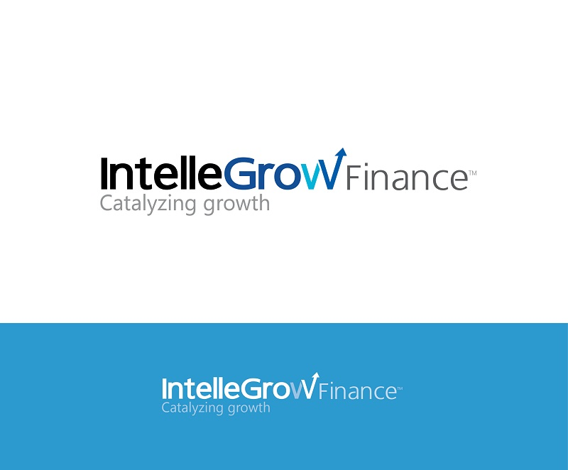 Logo Design by kowreck - Entry No. 206 in the Logo Design Contest Logo Design Needed for Exciting New Company IntelleGrow Finance Pvt. Ltd..