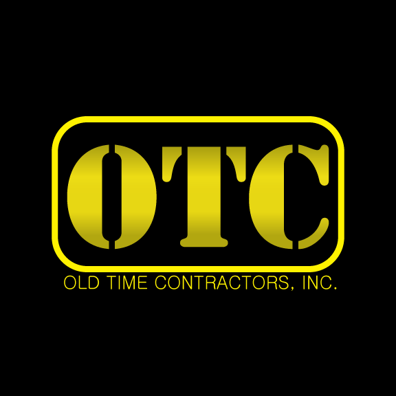 Logo Design by Ricky Frutos - Entry No. 82 in the Logo Design Contest Old Time Contractors, Inc. (new brand:  OTC, Inc.) Logo Design.