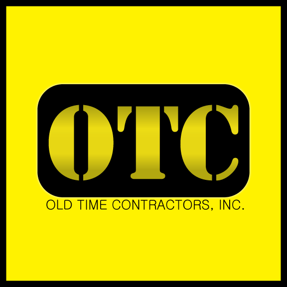 Logo Design by Ricky Frutos - Entry No. 84 in the Logo Design Contest Old Time Contractors, Inc. (new brand:  OTC, Inc.) Logo Design.