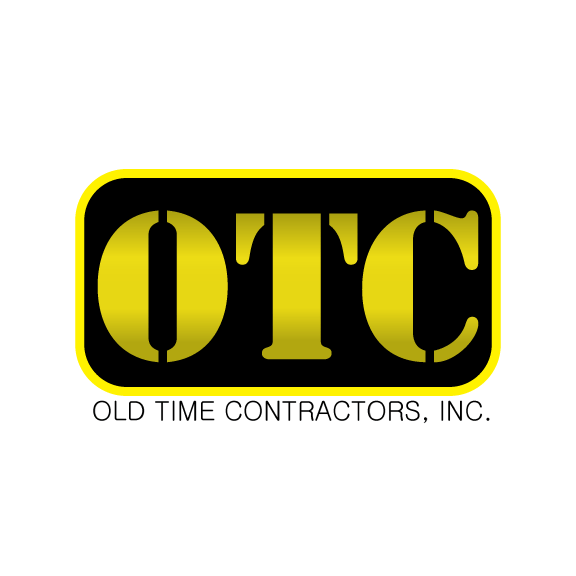 Logo Design by Ricky Frutos - Entry No. 85 in the Logo Design Contest Old Time Contractors, Inc. (new brand:  OTC, Inc.) Logo Design.