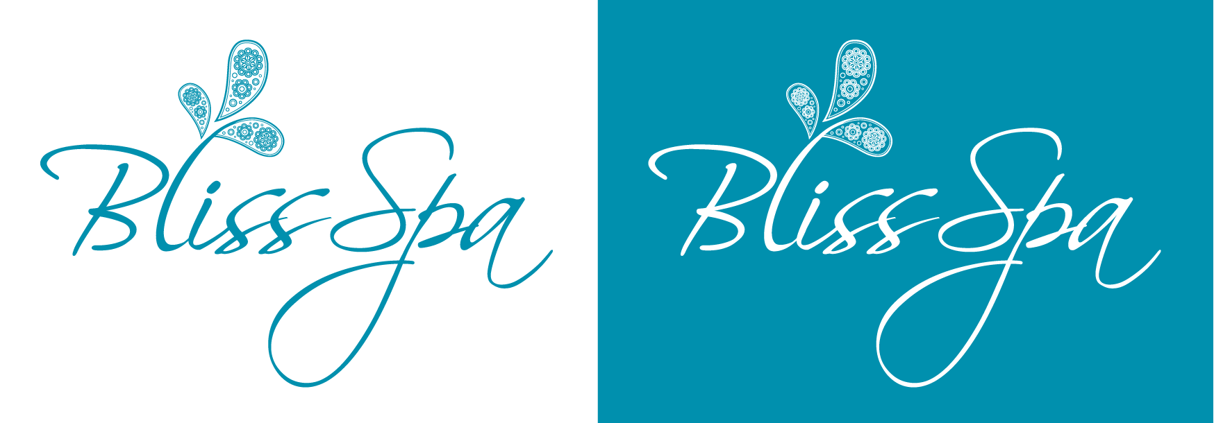 Logo Design by luna - Entry No. 14 in the Logo Design Contest New Logo Design for Bliss Spa Mobile.