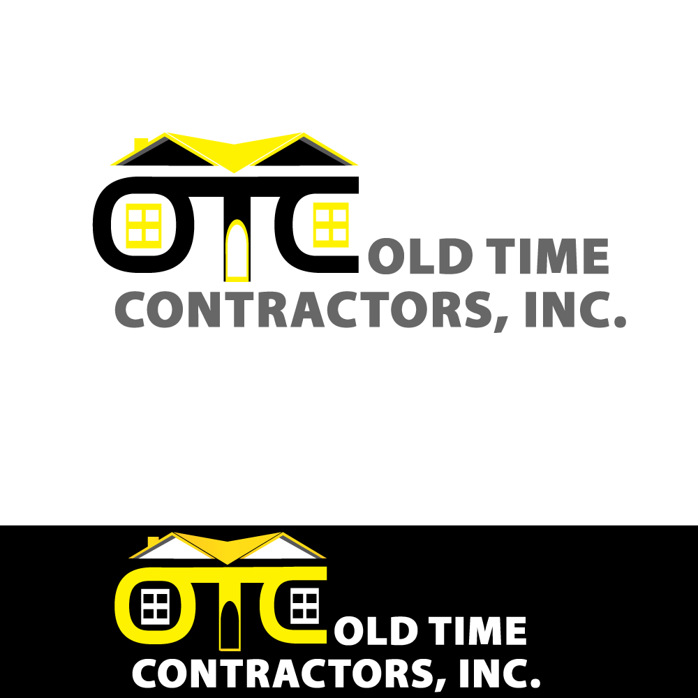 Logo Design by Jeferlan Sbado - Entry No. 86 in the Logo Design Contest Old Time Contractors, Inc. (new brand:  OTC, Inc.) Logo Design.
