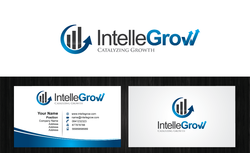 Logo Design by Private User - Entry No. 212 in the Logo Design Contest Logo Design Needed for Exciting New Company IntelleGrow Finance Pvt. Ltd..