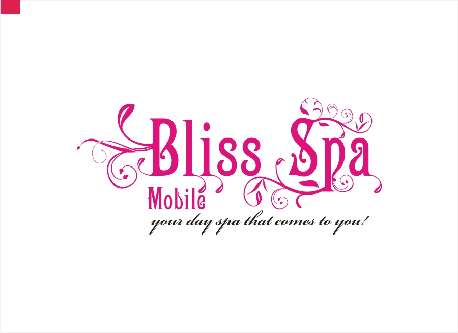 Logo Design by Private User - Entry No. 19 in the Logo Design Contest New Logo Design for Bliss Spa Mobile.