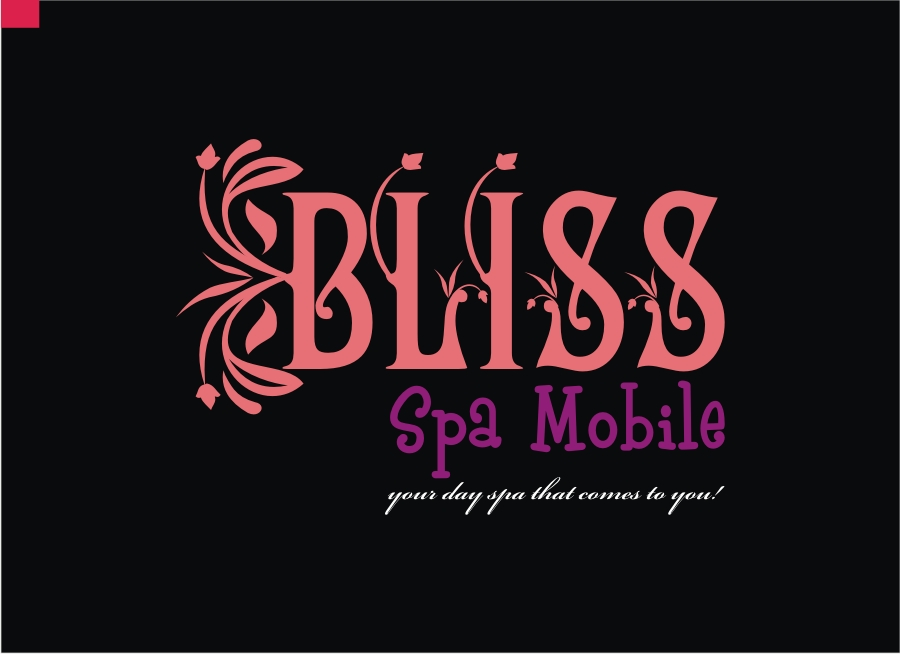 Logo Design by Private User - Entry No. 20 in the Logo Design Contest New Logo Design for Bliss Spa Mobile.