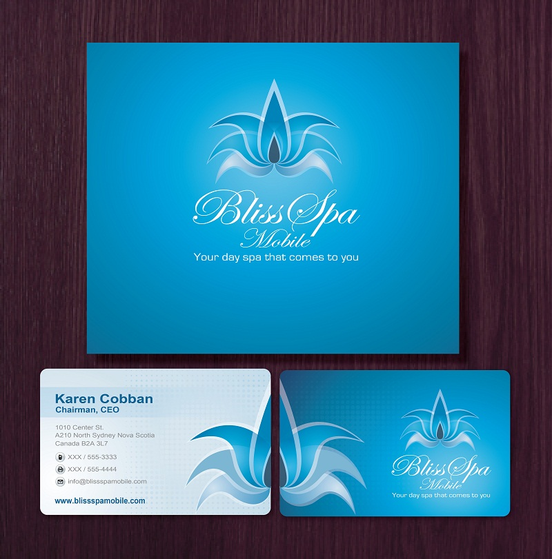 Logo Design by kowreck - Entry No. 21 in the Logo Design Contest New Logo Design for Bliss Spa Mobile.