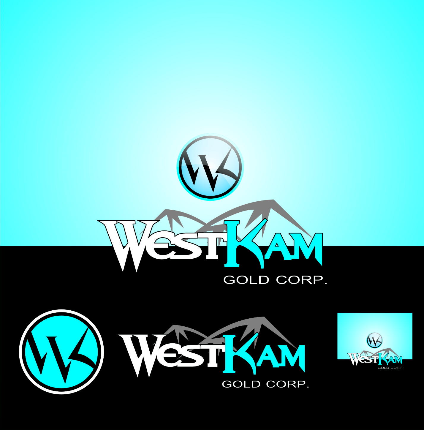 Logo Design by Private User - Entry No. 129 in the Logo Design Contest New Logo Design for WestKam Gold Corp..