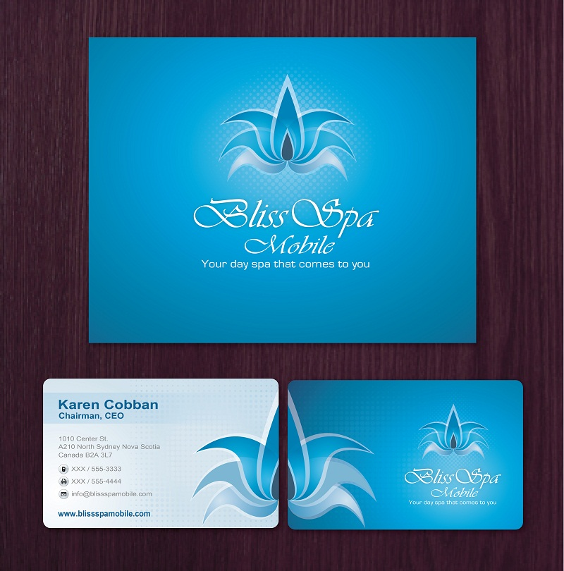 Logo Design by kowreck - Entry No. 23 in the Logo Design Contest New Logo Design for Bliss Spa Mobile.