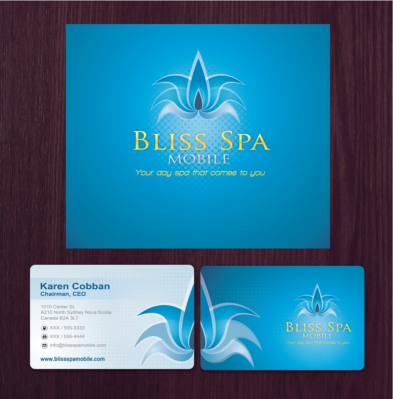 Logo Design by kowreck - Entry No. 24 in the Logo Design Contest New Logo Design for Bliss Spa Mobile.