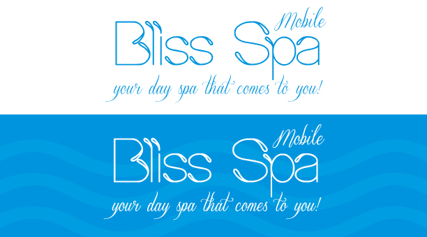 Logo Design by Jelena Kaerner - Entry No. 30 in the Logo Design Contest New Logo Design for Bliss Spa Mobile.