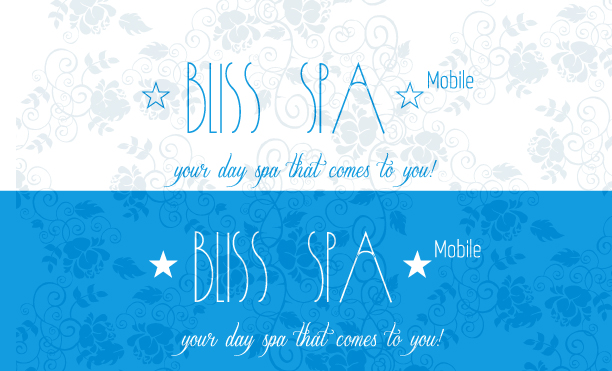 Logo Design by Jelena Kaerner - Entry No. 33 in the Logo Design Contest New Logo Design for Bliss Spa Mobile.
