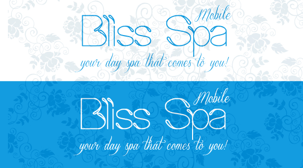 Logo Design by Jelena Kaerner - Entry No. 34 in the Logo Design Contest New Logo Design for Bliss Spa Mobile.