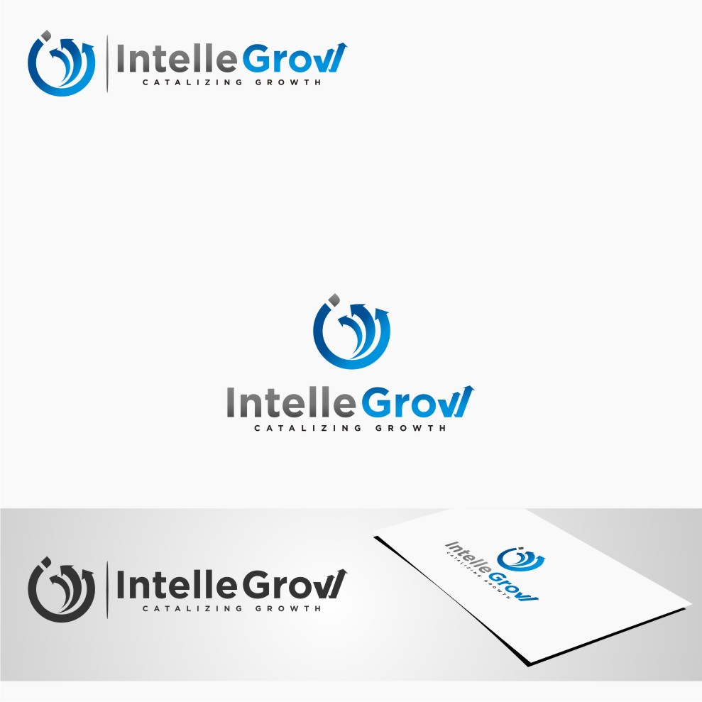 Logo Design by Muhammad Nasrul chasib - Entry No. 217 in the Logo Design Contest Logo Design Needed for Exciting New Company IntelleGrow Finance Pvt. Ltd..