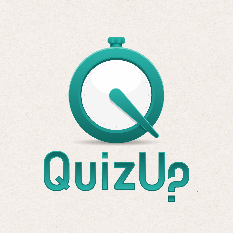 Logo Design by Jon Heidarsson - Entry No. 47 in the Logo Design Contest Logo Design for QuizUp app.