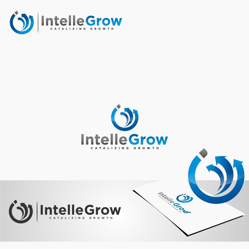 Logo Design by graphicleaf - Entry No. 218 in the Logo Design Contest Logo Design Needed for Exciting New Company IntelleGrow Finance Pvt. Ltd..