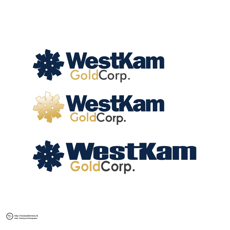Logo Design by moisesf - Entry No. 131 in the Logo Design Contest New Logo Design for WestKam Gold Corp..
