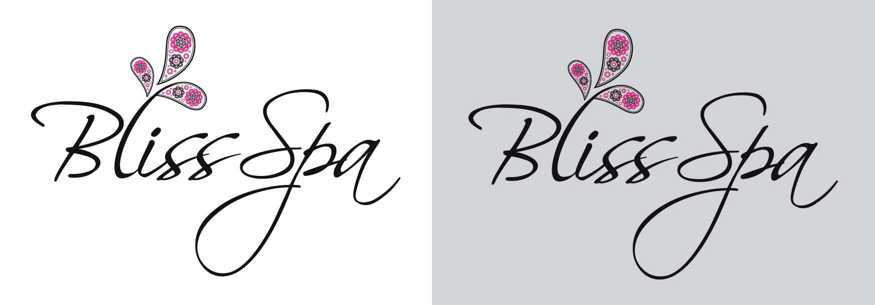 Logo Design by luna - Entry No. 38 in the Logo Design Contest New Logo Design for Bliss Spa Mobile.