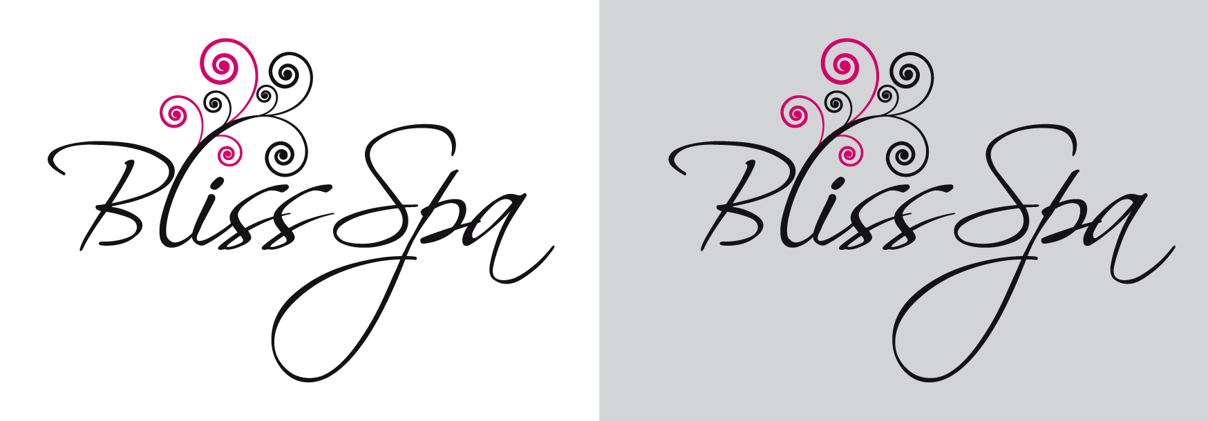 Logo Design by luna - Entry No. 39 in the Logo Design Contest New Logo Design for Bliss Spa Mobile.