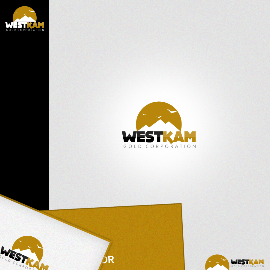Logo Design by rockpinoy - Entry No. 144 in the Logo Design Contest New Logo Design for WestKam Gold Corp..
