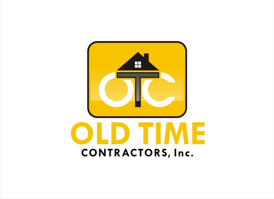 Logo Design by Private User - Entry No. 92 in the Logo Design Contest Old Time Contractors, Inc. (new brand:  OTC, Inc.) Logo Design.